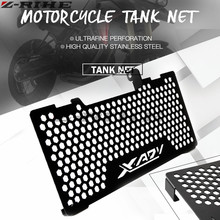 For Honda x-adv/HONDA X-ADV 750  2017-2018 Motorcycle Radiator Protective Grill Grille Cover Guard Matte Black and Silver New