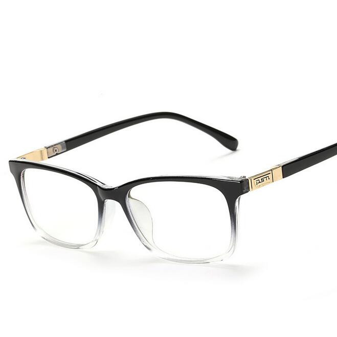 84443ce5d552 Fashion Square Eyeglasses Retro Men 2016 Eye Glasses Frames Optical Women  Computer Plain Glass Frame Oculos De Grau Spectacles