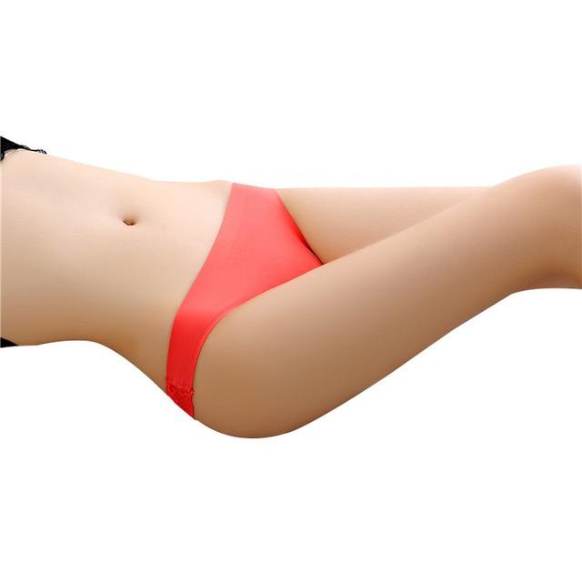 Women Underwear Solid Sexy Lingerie Panties for Women String Thongs Seamless G-String Briefs Panties Underwear 2018 1