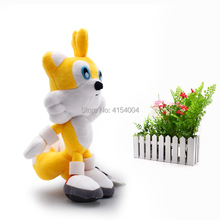 10 pcs/lot Sonic Soft Plush Doll Yellow Sonic Cartoon Animal Stuffed Plush Toys Figure Dolls Gifts 20 cm  Christmas Gift цена