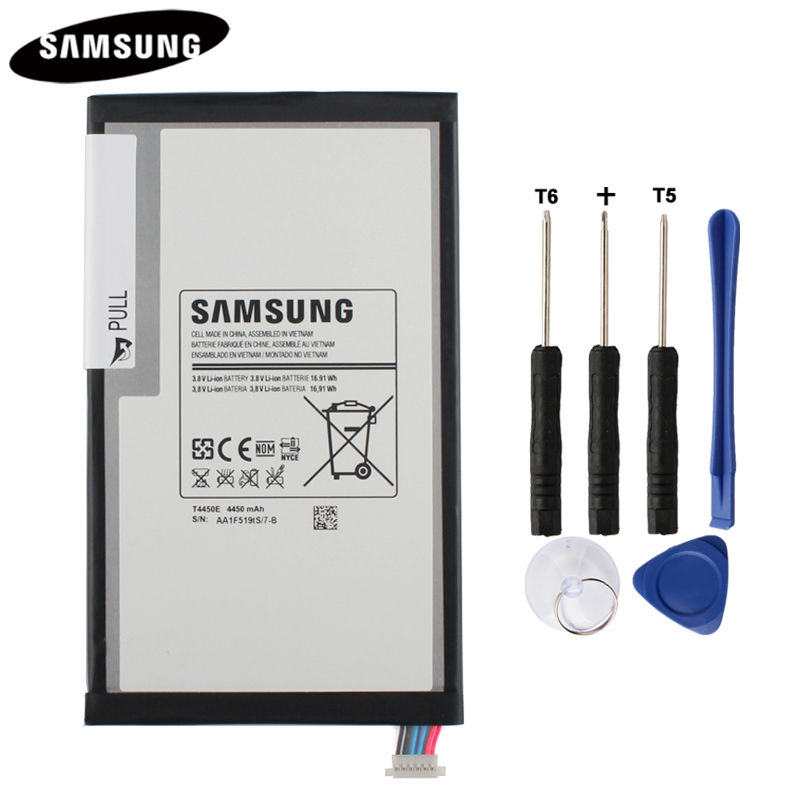100% Original Tablet Battery T4450E For Samsung GALAXY Tab 3 8.0 T310 T311 T315 Genuine Replacement Batterries 4450mAh100% Original Tablet Battery T4450E For Samsung GALAXY Tab 3 8.0 T310 T311 T315 Genuine Replacement Batterries 4450mAh
