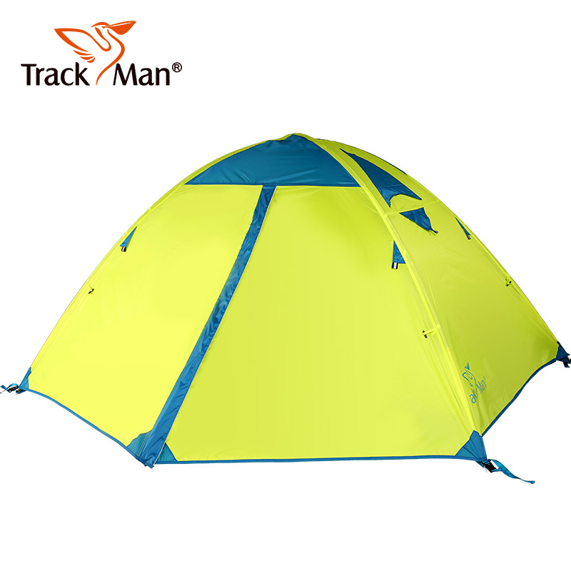 Tarckman Camping Tents 2 Person outdoor 2 Person Double Layers Aluminum Rod Camping Tents 3 Season