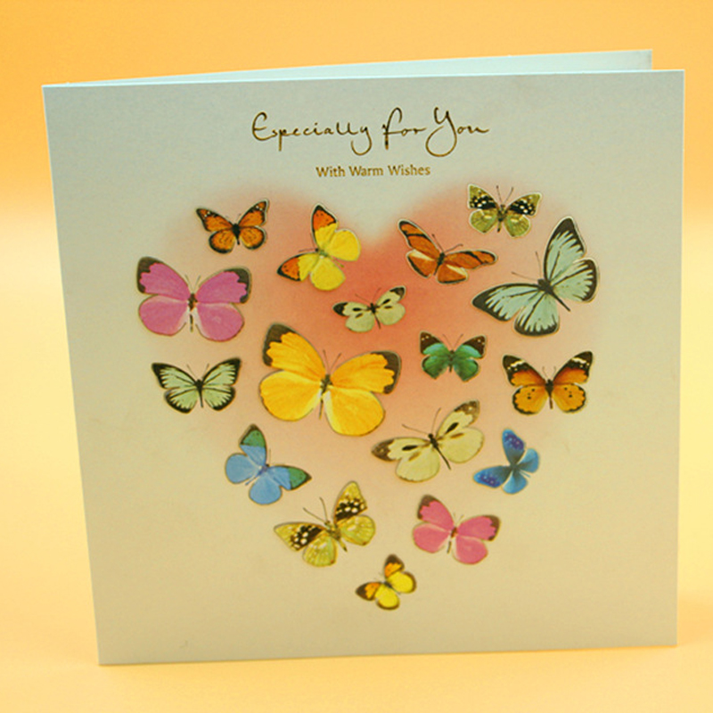 (12 Pieces/lot)Beautiful Butterfly Postcard Greeting Card
