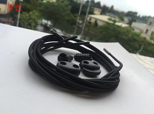 12 Color 100cm Sneaker Lock lace cordones elasticos zapatillas no tie elastic shoelaces Locking Shoe Laces