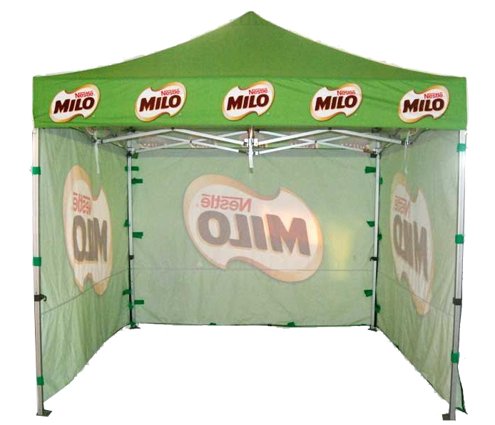 Customized pop up tent for events11kgs Aluminum Alloy Frame folding canopyadvertising marquee promotion tent with three walls-in Awnings from Home ...  sc 1 st  AliExpress.com & Customized pop up tent for events11kgs Aluminum Alloy Frame ...