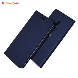 На Алиэкспресс купить чехол для смартфона ultra-thin magnet pu leather flip wallet case stand cover for sony xperia xz3