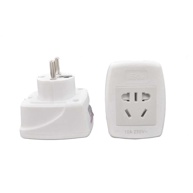 Germany standard <font><b>to</b></font> China standard Travel Converter <font><b>Plug</b></font> Power Adapter electric appliance adaptor <font><b>EU</b></font> <font><b>to</b></font> <font><b>CN</b></font> Electrical <font><b>plug</b></font> image
