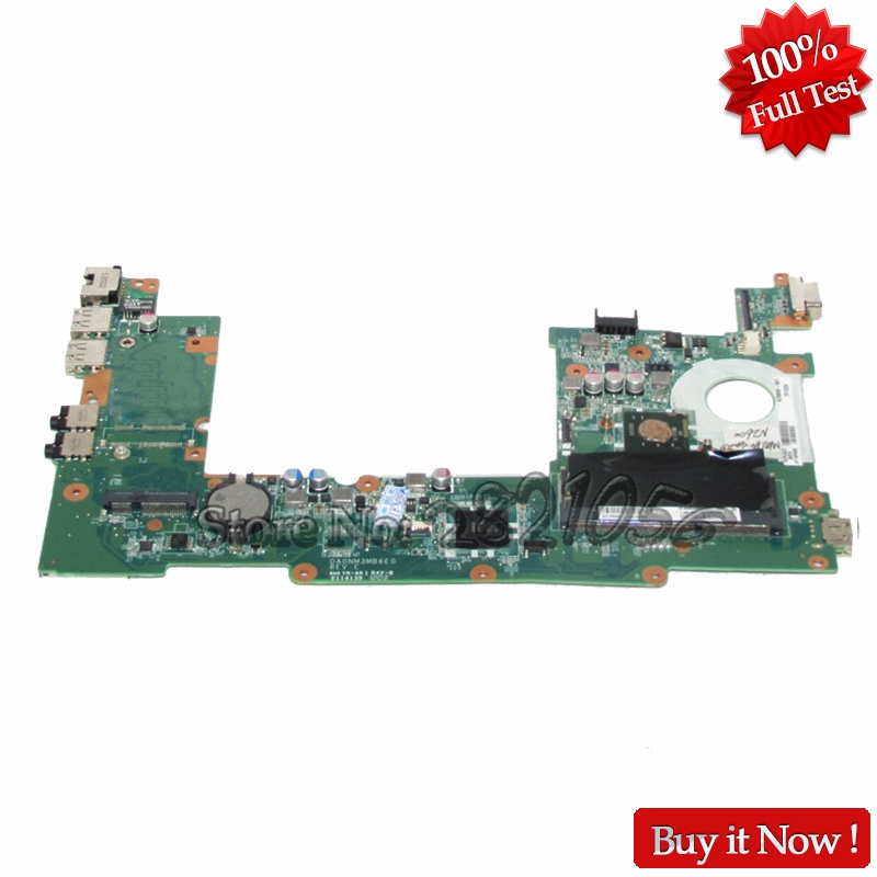 NOKOTION Laptop Motherboard For for HP Mini 200 Notebook PC Main board 676909-001 DA0NM3MB6E1 CPU Onboard