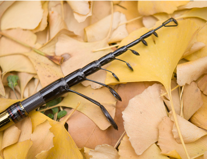 Best spinning telescopic fishing rod 1.9m 2.1m 2.4m 2.7m raft portable carbon fiber telescopic fishing rod lure weight 15-25g (12)