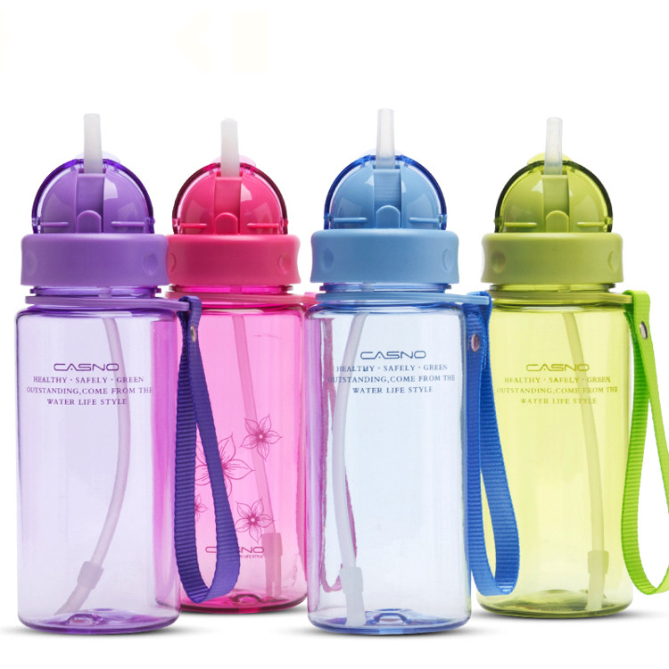 Healthy Drinkware Water-Bottle Straw Plastic Bpa-Free Child High-Quality with Kid 400ml/560ml