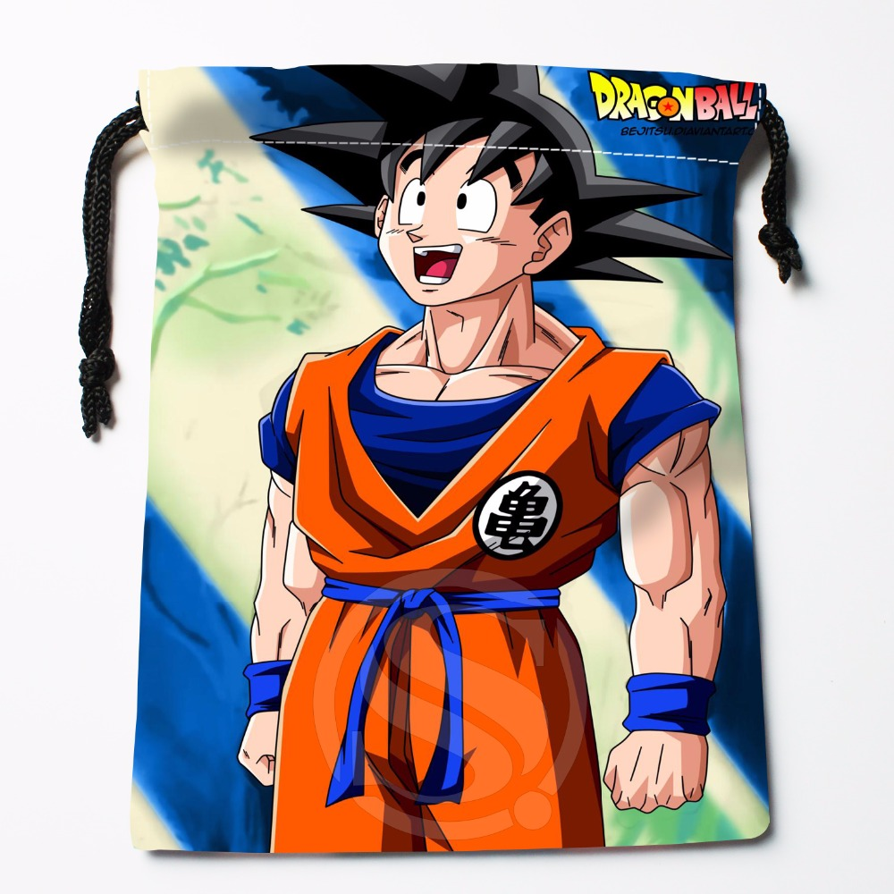 Fl-Q26 New Dragon Ball Z #15 Custom Logo Printed  Receive Bag  Bag Compression Type Drawstring Bags Size 18X22cm 711-#F26