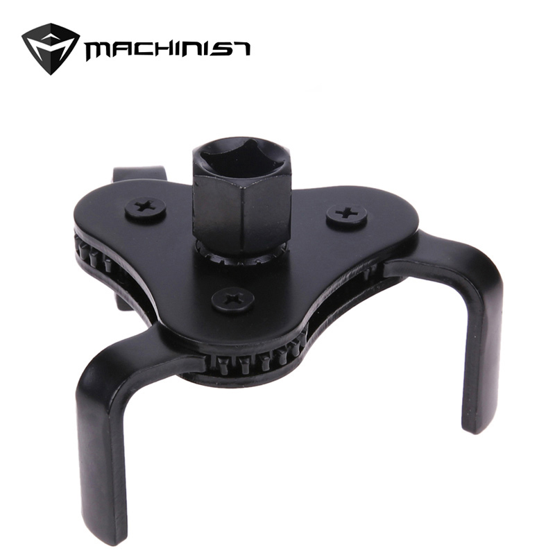 Oil Filter Wrench Tool With 3 Jaw Oil Filter Remover Tool For Cars Oil Filter Removal Tool 3/8 Inch Interface Special Tools