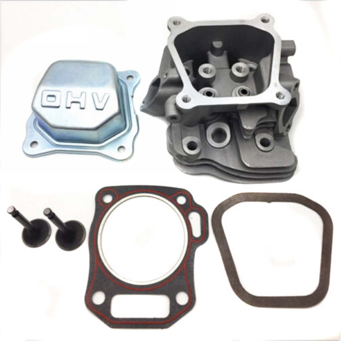 1set Cylinder Head Kit Replacement For GX200 6.5HP Engine Parts Mayitr New Arrival jiangdong engine parts for tractor the set of fuel pump repair kit for engine jd495