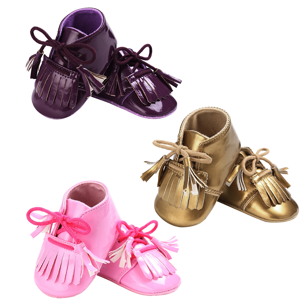 Baby Sneakers Infant Toddler Fashion Tassel First Walkers Newborn Soft Sole Anti Slip Shoes Baby Moccasin Babies Prewalkers