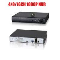 Free Shipping H 264 4CH 8CH 16CH 1080P NVR Security CCTV DVR NVR 1080P Onvif Max