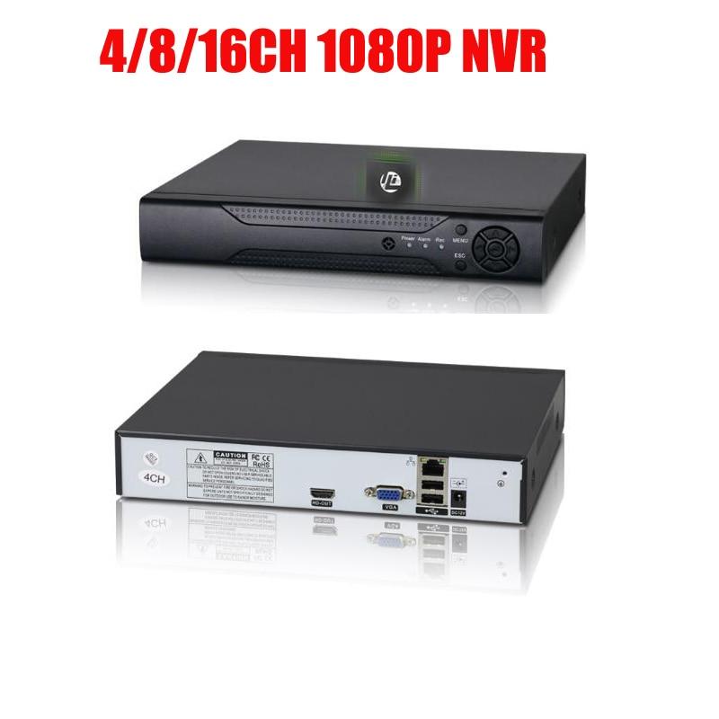 Free shipping H.264 4CH 8CH 16CH 1080P NVR  Security CCTV DVR NVR 1080P Onvif Max 6TB