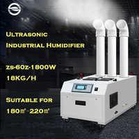 Neue Aktualisiert Hohe Effizienz Industrielle Luftbefeuchter Fabrik Werkstatt Treibhaus Feuchtigkeit Einstellung Nebel Sprayer Große Fogger