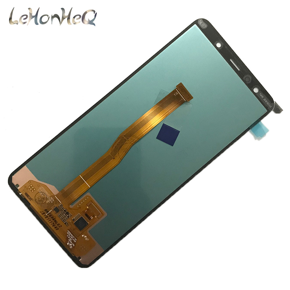 Image 4 - For Samsung Galaxy A7 A750 A750G SM A750F LCD Display Touch screen Digitizer Assembly For samsung A7 2018 A750 Original Display-in Mobile Phone LCD Screens from Cellphones & Telecommunications