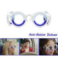 New Motion sickness Glasses Smart Portable Ultralight Liquid Lensless Anti-stun Anti-Glasses Motion Travel Sports Dropshipping
