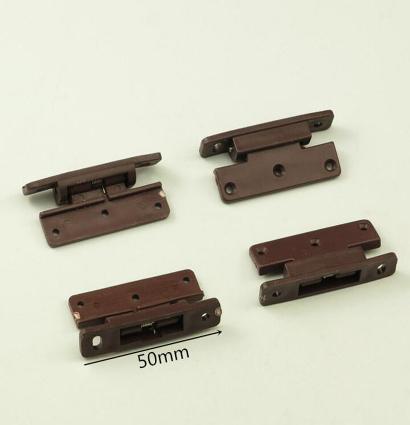 Plastic Spring Hinge Cabinet Door Hinge Small Plane hinges x10 2pcs set stainless steel 90 degree self closing cabinet closet door hinges home roomfurniture hardware accessories supply