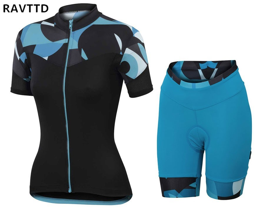 Women Cycling Jersey Short Sleeve Breathable Bike Bicycle Clothes Clothing Ropa Ciclismo Quick-Dry Sportswear Cycling Clothing