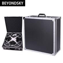 DJI Phantom 4 Drone Aluminum Plate Luxury Suitcase phantom 3 genuine case Specialty Advanced Standard Storage