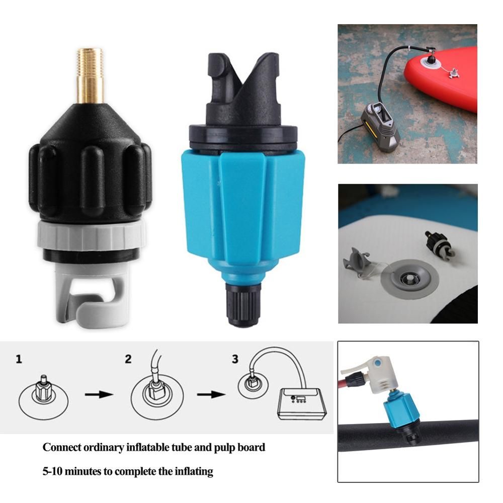 Inflatable Boat Air Valves Adaptor Board Kayak Pump Adaptor Stand Up Paddle Board Kayak Surfing Rowing Water Accessory