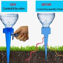 1 шт. завод воды просачивания орган Автоматическая капля доудлер клапан регулируемый цветок самополива шипы колья оросительная система# YJ
