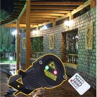 Premium Outdoor Garden Decoration Waterproof IP65 Christmas Laser Spotlight Light Star Projector Showers With Remote Controller