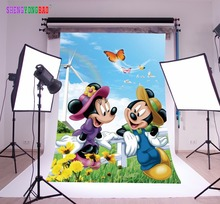 SHENGYONGBAO Art Cloth Custom Photography Backdrops Prop  Cartoon Theme Background SS-0008