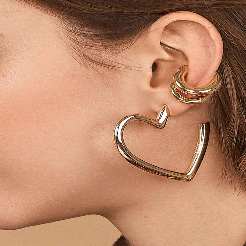 New-Punk-Gold-Alloy-Ear-Clip-Earrings-for-Women-Girls-Simple-Charm-Circle-Small-Earring-Party (2)
