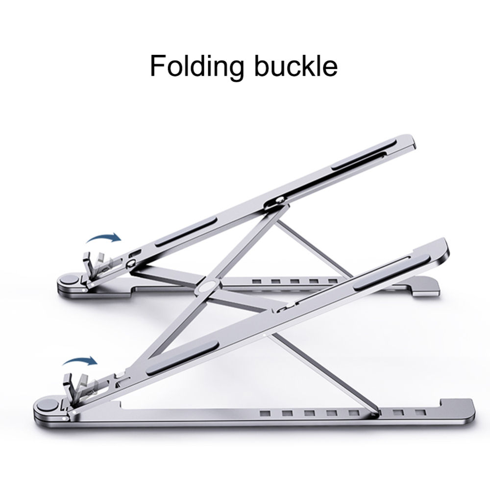 Dropshipping Folding Laptop Stand Aluminum Cooling Adjustable Desk Stand Tablet Holder Support For MacBook Air Pro Stand