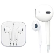 100% Original White 3.5mm headphones For Apple iPhone 5/5s/6/6s plus Earpods earphone with Remote and Mic For iPad/iPod