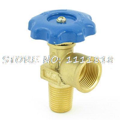 Household 2.5Mpa Pressure YSF-4 LPG Bottle Valve for Gas Cylinder Tank