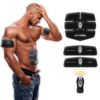 Multi Функция EMS пресса тренажер устройства жилищно мышцы живота интенсивных тренировок Электрический Вес потери массажер для похудения