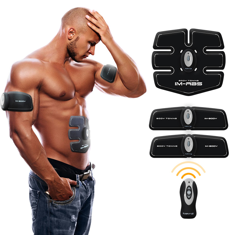 лучшая цена Multi-Function EMS abdominal exerciser Device Hous abdominal muscles intensive training Electric Weight Loss Slimming Massager