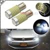 2pcs Error Free 1200 Lumens Super Bright 3014 Chipsets 1156 BA15s P21W LED Bulbs For Volkswagen
