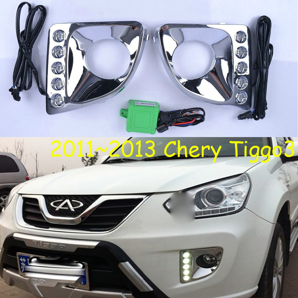 LED,2011~2013 Chery Tiggo day Light,Tiggo fog light,Tiggo headlight;Tiggo headlight,Tiggo3,Tiggo 3