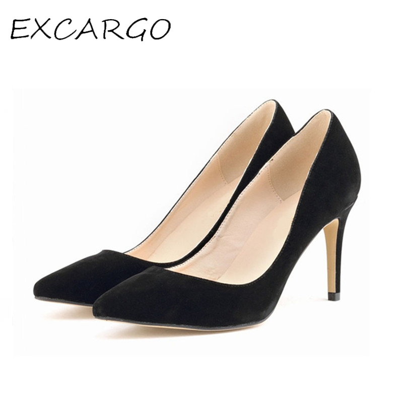 Candy Color Pumps 11 Colors Pointed Toe Sexy High Heels Shallow Mouth Suede Women Pumps Women