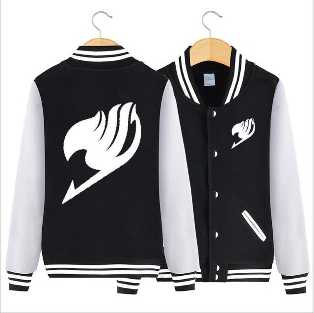 Fairy Tail baseball jacket