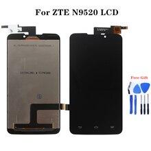 Dla zte Starxtrem SFR Grand Memo N5 U5 N9520 V9815 Monitor LCD i Panel dotykowy naprawy części telefonu komórkowego zespołów