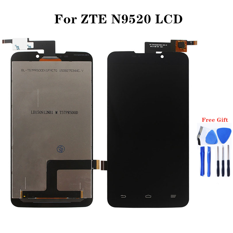 For zte Starxtrem SFR Grand Memo N5 U5 N9520 V9815 LCD Monitor and Touch Panel Repair Parts Mobile Phone Assemblies-in Mobile Phone LCD Screens from Cellphones & Telecommunications