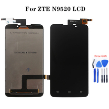 For zte Starxtrem SFR Grand Memo N5 U5 N9520 V9815 LCD Monitor and Touch Panel Repair Parts Mobile Phone Assemblies