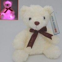 Soft Light Up Teddy-Glow Flash Toy-7 Umore Colori Accogliente Farcito Peluche Orso Regalo Per I Bambini Toddlers Bambini partito