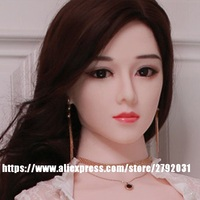New TPE Head for Silicone Sex Doll Adult Love Doll Sex Toys Masturbator JY Sex Toy