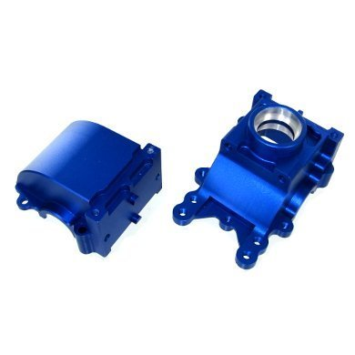 HSP RC Car Parts 050060 Alloy Gear Box 1/5 Scale RC Buggy Truck hsp 02024 differential diff gear complete 38t for 1 10 rc model car spare parts fit buggy monster