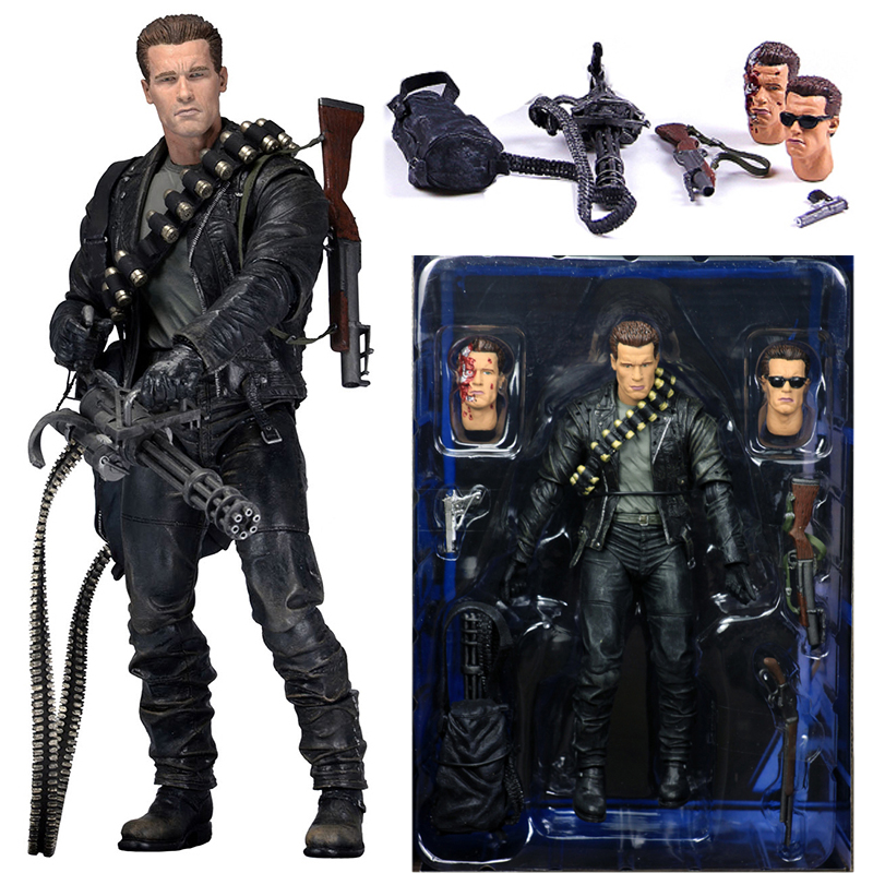 Original Terminator 2 T-800 Variant Figure Variable PVC Action Figures Model Toy Doll