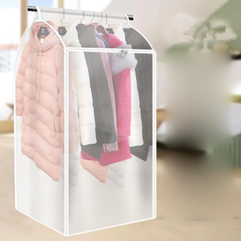 Large Clothes Storage Bag Case Vacuum Garment Suit Coat Hanging Organizer Dust Cover Protector Household Wardrobe Storage Bag