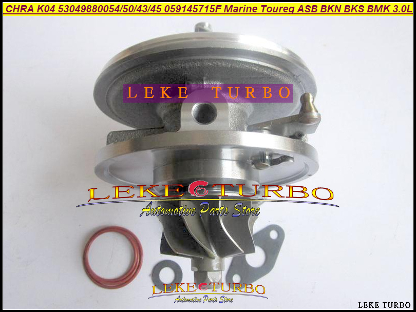 Turbo Cartridge CHRA K04 53049880054 53049700054 53049700050 53049700043 For Audi A4 A6 A8 Q7 For VW Marine Phaeton Toureg 3.0L turbo cartridge chra k03 29 53039880029 53039700029 058145703j 058145703n for audi a4 a6 vw passat 1 8t apu ark 1 8l