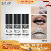 IMAGIC Gel Face Body Primer Glue Long Lasting Waterproof Fixing Loose Glitter Shimmer Eyeshadow Dust Quick Drying